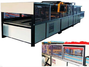 Horizontal Type 3D Panel Production Line